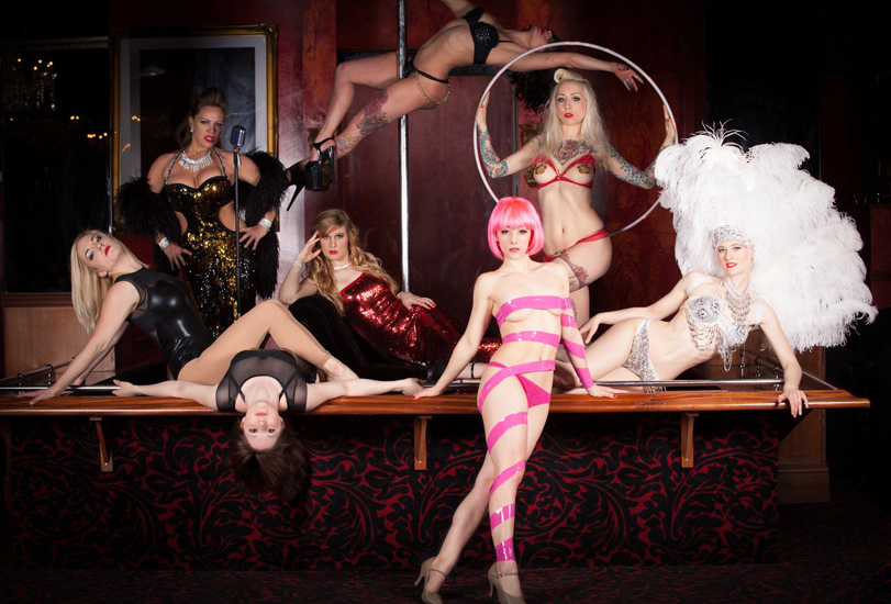 showcase cabaret burlesque show