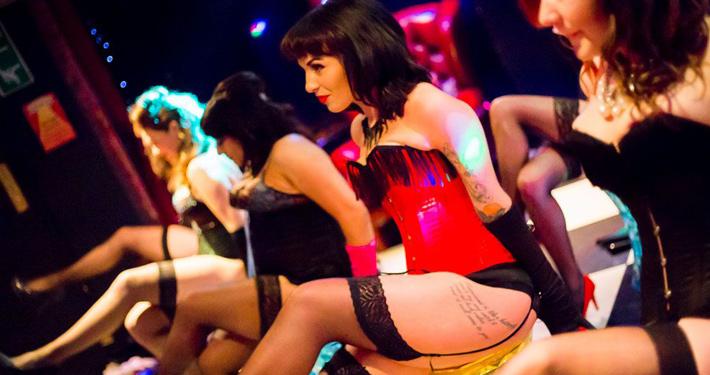 burlesque dancing hen ideas